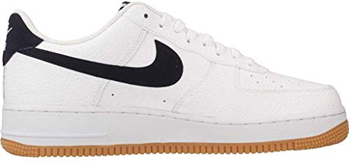 Nike Herren Air Force 1 Basketballschuhe, Weiß (White/Obsidian/University Red 100), 47 EU