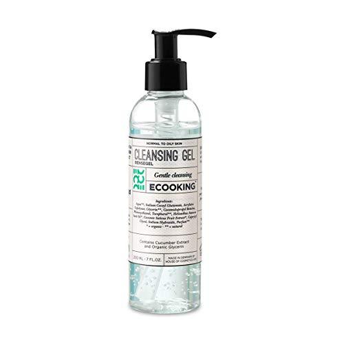 ECOOKING Reinigungsgel, Vegan, Gesichtsreinigung Für normale oder fettige Haut, 200 ml