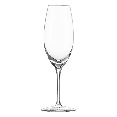 Schott Zwiesel Cru Classic Sekt-Glas, Kristallglas, transparent, 72 mm, 6