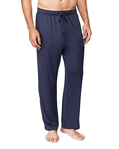 32 DEGREES Mens Cool Knit Wicking Lounge Pant, Navy, Large
