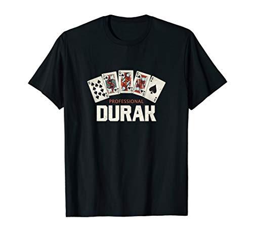 Professional Durak Russland Kartenspiel Dummkopf CCCP Blyat T-Shirt