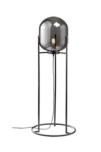 Fischer&Honsel Regi Stehleuchte, Metall, 60 W, schwarz