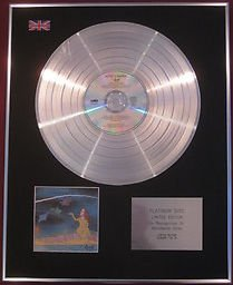 AZTEC cámara CD disco de platino cuchillo