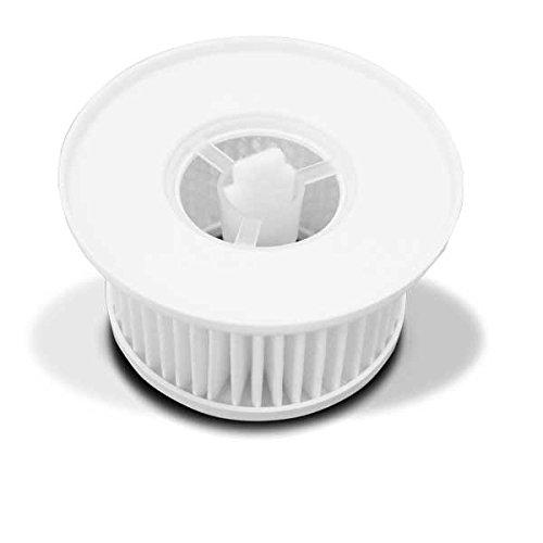 Air Naturel FILT0015 - Kit filtro per particelle, contenitore + 3 dischetti di diffusione, colore: Bianco