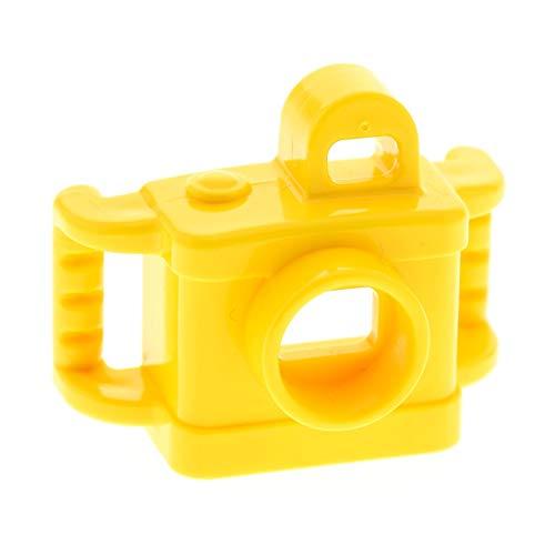 1 x Lego Duplo Kamera gelb Foto Apparat Figur Zubehör Puppenhaus Möbel Camera Set 10805 10841 10804 10827 10830 24806