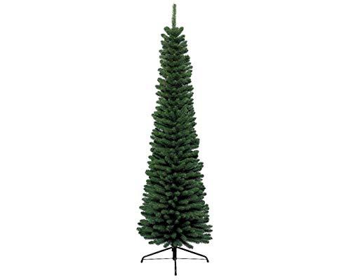 Kaemingk 680063Pencil Pine, Sottile, Albero, Soft in PVC ad Aghi, Interno, Altezza 240cm