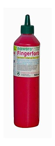 Unbekannt ökoNORM nawaro Fingerfarbe rot, 750g