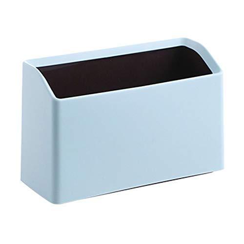 Papelera de reciclaje de basura creativa / Papelera rectangular Papelera de escritorio Papelera de plástico Pequeño y minúsculo Cubo de basura de encimera de oficina Cubos de basura de cocina / Cubo (