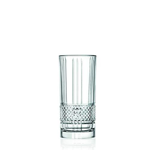 RCR Cristalleria Italiana 6 Bicchieri bibita Brillante