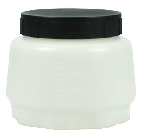 WAGNER 2305155 Farbbehälter mit Deckel, 1300 ml Farbsprühsysteme