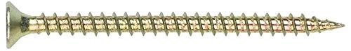 Index TPPO60150 - Tornillo tirafondo pozidriv bicromatado cabeza 90 avellanada lubrificado 6,0 x 150