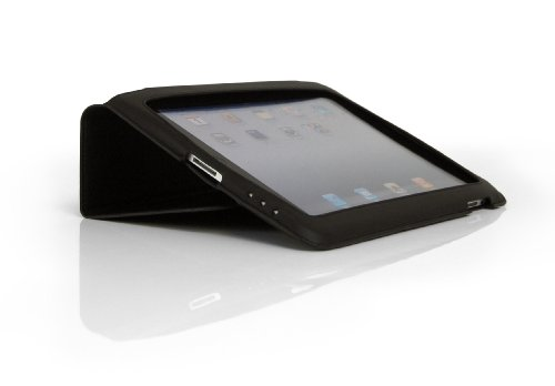 Tech21 T21-1243 iPad Leather Folio Case with D3O - Black