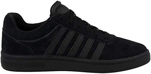 K-Swiss Damen Court CHESWICK SDE Sneaker, Schwarz (Black/Black 001), 39 EU