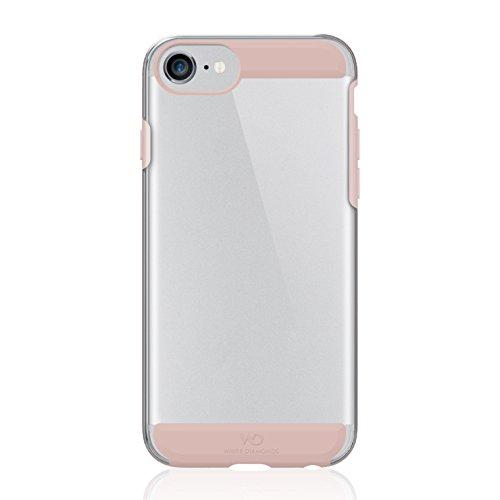 White Diamonds Swarovski Vetro Innocence–Cover per Apple iPhone 7/6S/6, Colore: Rosa
