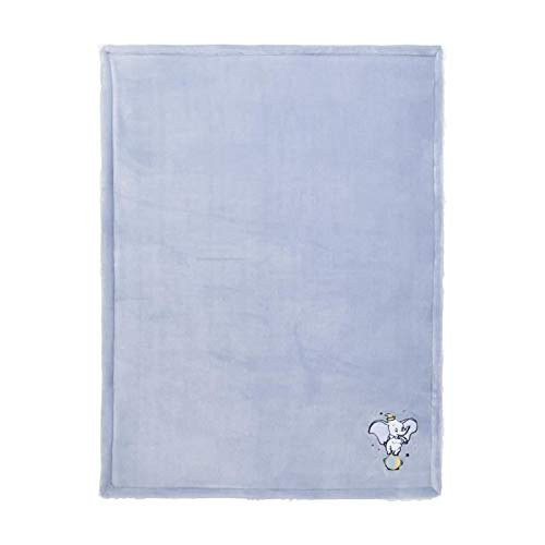 DISNEY BABY Dumbo couverture bi-matiere - 75 x 100 cm