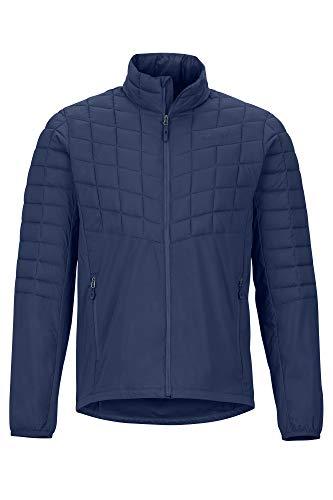 Marmot Featherless Hybrid Jacket Veste Softshell Isolante, Veste de randonnée, Anorak Homme, Coupe-Vent Homme Arctic Navy FR: S (Taille Fabricant: S)