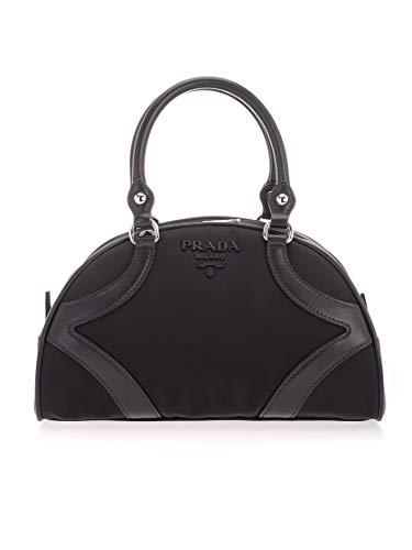 Prada Luxury Fashion Damen 1BB0702EUWF0002 Schwarz Leder Handtaschen | Jahreszeit Permanent