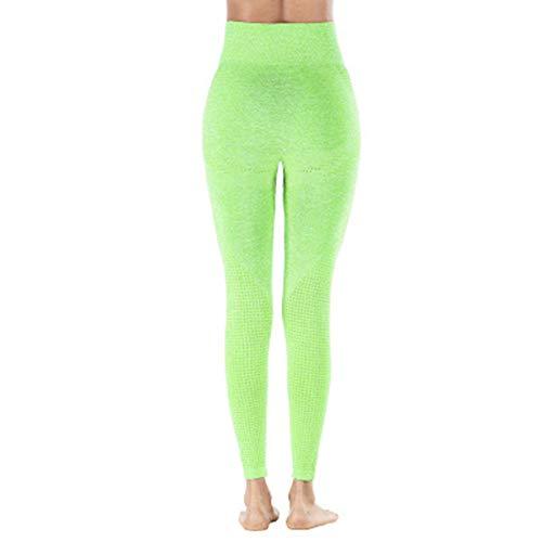 SLYZ Frauen Neue Hüftlifting Nahtlose Yogahosen Jacquard Hohe Taille Schnell Trocknende Fitnesshose Sport Leggings Frauen