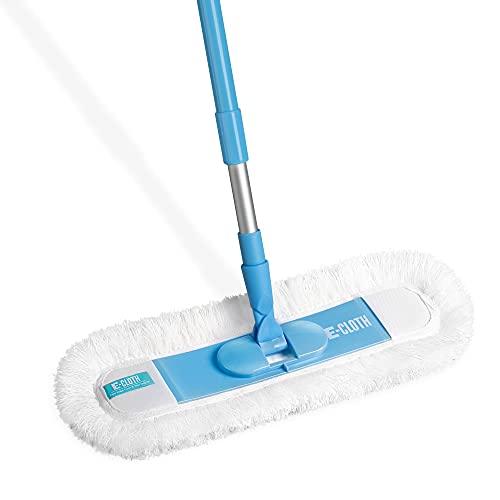 E-Cloth Flexibler Boden- & Wandreinigungsmopp, Polyester, Blau & Silber, 1 Packung