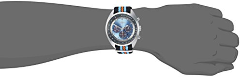 Fashion Shopping Seiko Men's RECRAFT Series Stainless Steel Japanese-Quartz Watch with Nylon