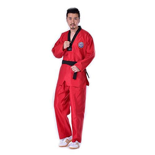 BBLAC 2KEY B2KEY® Sportbekleidung Taekwondo-Karate-Aikido-Anzug Erwachsene Taekwondo-Anzug Taekwondo-Uniform für Kinder Kampfsport-Trainingsoutfit Judo-Taekwondo-Kleidung