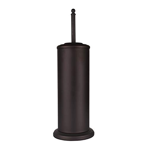 DOWRY Anti-Hand Off Bronze Toilet Plunger with Holder for Bathroom,Powerful Efficient Force Suction Cup,Heavy Duty, Deep Cleaning