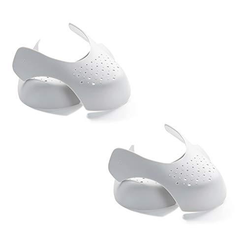 DEELING STYLE 2 Pair Shoe Protector Toebox Crease Guards for Men (Men's 7-12)