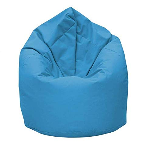 GiantBag Drope-Shape Puf para interior y exterior, para niños y adultos