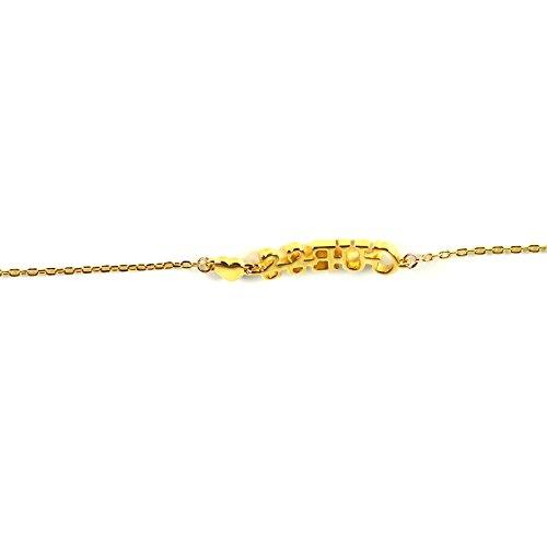 Guess Damen Gliederarmbänder Vergoldet - UBB61093-S