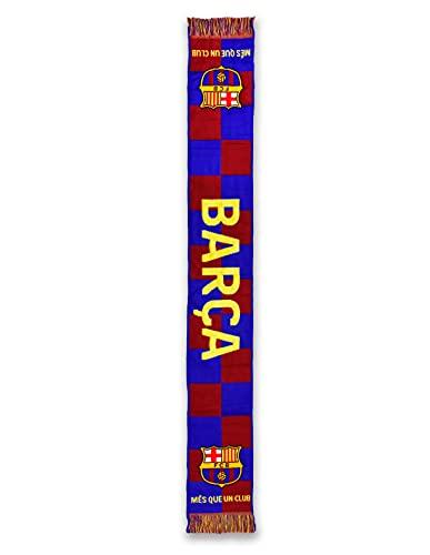 Fútbol Club Barcelona Bufanda Telar 1º EQP. 19/20 - Producto con Licencia - Medidas 140 x 20 cm. - Acrilyco 100%
