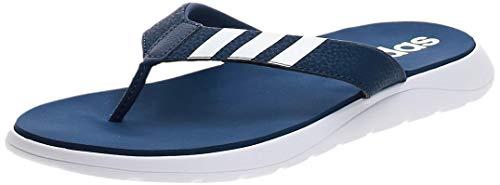 adidas Comfort, Chanclas Hombre, Tecind/Ftwwht/Tecind, 43 1/3 EU
