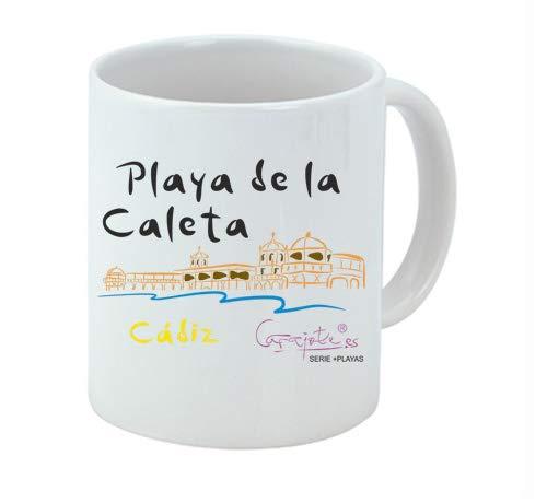 Taza serie +PLAYAS Playa de la Caleta Cádiz