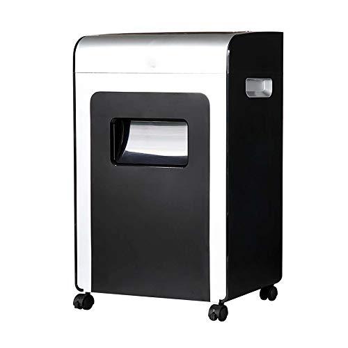 MUBAY Aktenvernichter für das Home Office Elektro-File Shredder 16-Blatt-Micro-Cut Heavy Duty Aktenvernichter, Zerstören CD/Staples, Büro und zu Hause stille Art