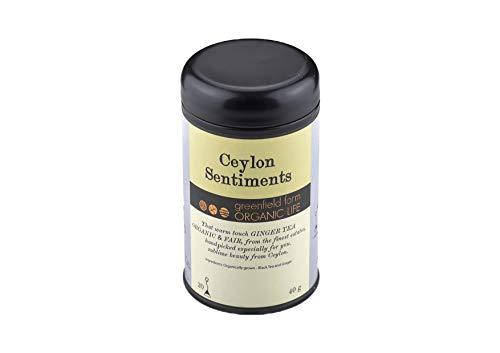 生姜紅茶 オーガニック 生姜 紅茶 ティーバッグ 【 オーガニック ジンジャーティー Ceylon Sentiments 】 HARITA