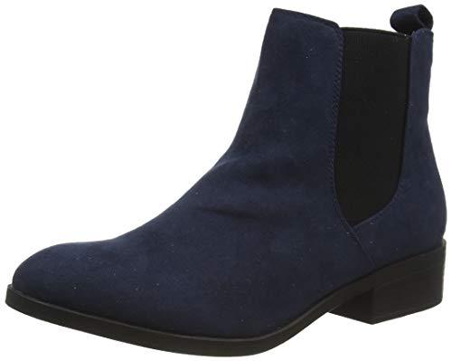 Dorothy Perkins Navy 'Morgan' Chelsea Boots, Bottine Femme, Marine, 37 EU