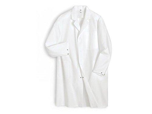 Herenjas wit kort kit werkmantel artsenjas werkkleding