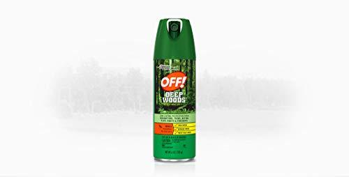 OFF! Deep Woods Sportsmen Repelente de insectos II, 6 onzas
