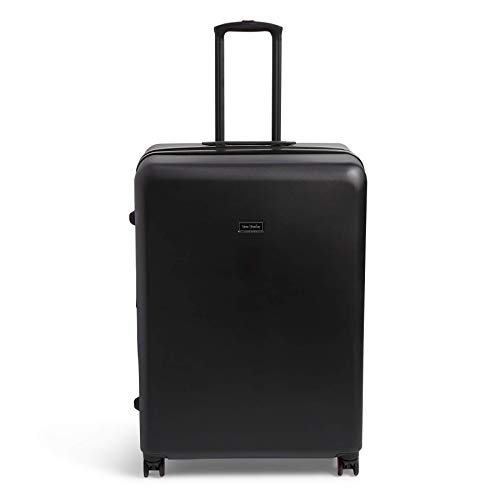 Lowest Price! Vera Bradley Hardside Rolling Suitcase Luggage, Black, 29 Check In