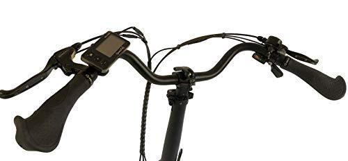 31X48W0xJkL - GermanXia E-Bike Faltrad Mobilemaster E-Klapprad Touring CH-15,6 7G Shimano 20 Zoll mit/ohne Gasdrehgriff, eTurbo 250 Watt HR-Antrieb, bis zu 140 km Reichweite nach StVZO