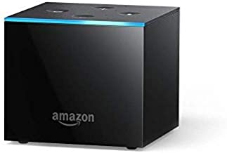 Certified Refurbished Fire TV Cube (1st Gen), hands-free with Alexa and 4K Ultra HD and 2nd Gen Alexa Voice Remote - Previous Generation