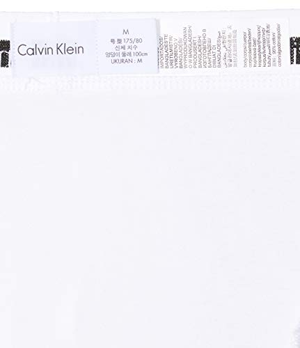 Calvin Klein Underwear Men's Hip Trunks Pack of 3 - Cotton Stretch, Multicolour (WHITE/RED GINGER/PYRO BLUE), XL