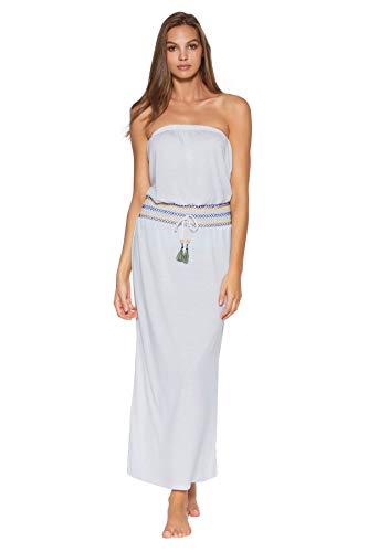 Soluna Swim Sunset Dress White LG