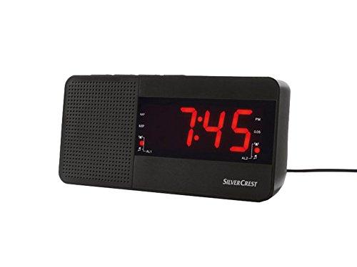 Radiowecker Wecker FM Snooze Naptimer Sleeptime Funktion SRW A1