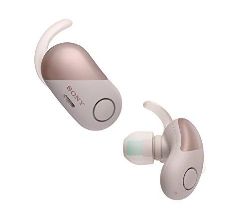 Sony WF-SP700N True Wireless Sport Kopfhörer (mit Noise Cancelling inklusiv Lade-Etui, IPX4wasserfest, Extra Bass) rosa