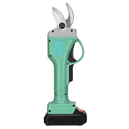 TOPQSC - Tijeras de podar eléctrica, cortacésped de árboles frutales de jardín,...