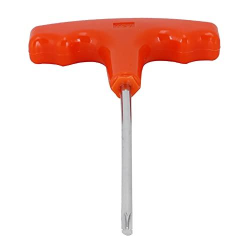 Cikonielf Destornillador T27 con Mango en Forma de T, Destornillador multifunción Apto para Stihl/Makita para Mantenimiento, desmontaje de Herramientas de jardín