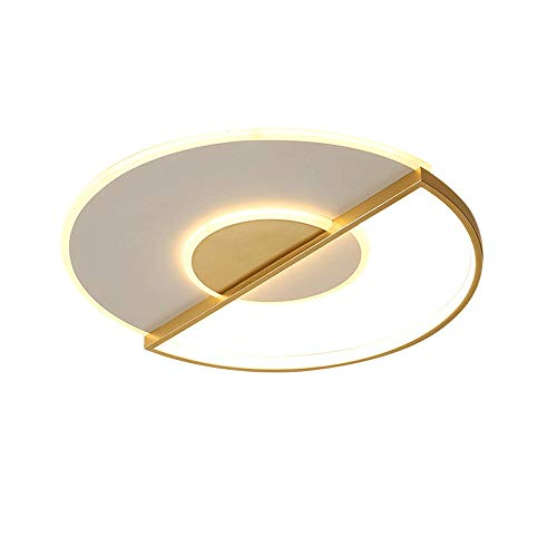 ZHANGL Lámpara de techo simple y moderna LED de techo LED de techo Luz de techo Personalidad creativa Sala de estar Sala de estar Lámpara de techo Luz blanca Luz de luz caliente Iluminación de ilumina