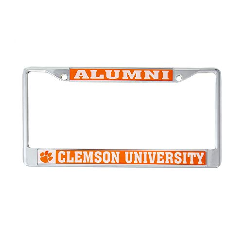 Desert Cactus Clemson University Tigers NCAA Metal License Plate Frame for Front Back of Car Officially Licensed (Alumni)