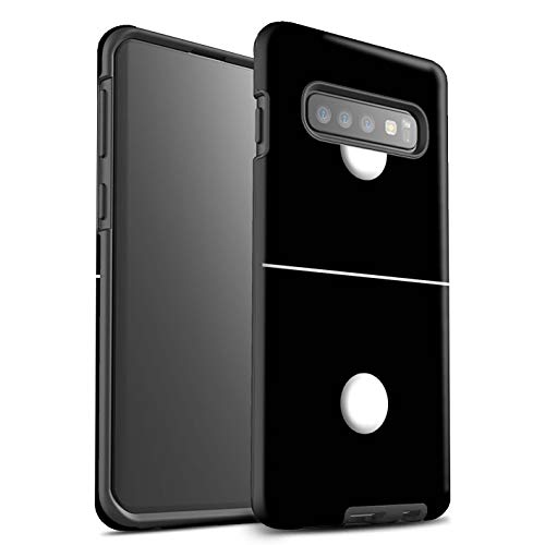 eSwish Phone Case/Cover/Skin/SG-3DTBM/Dominoes/Dominos Collection Samsung Galaxy S10 Plus Piastrella Nero 1/1