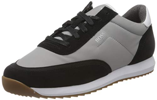 BOSS Herren Sonic_Runn_sdny Sneaker, Open Grey60, 39 M EU